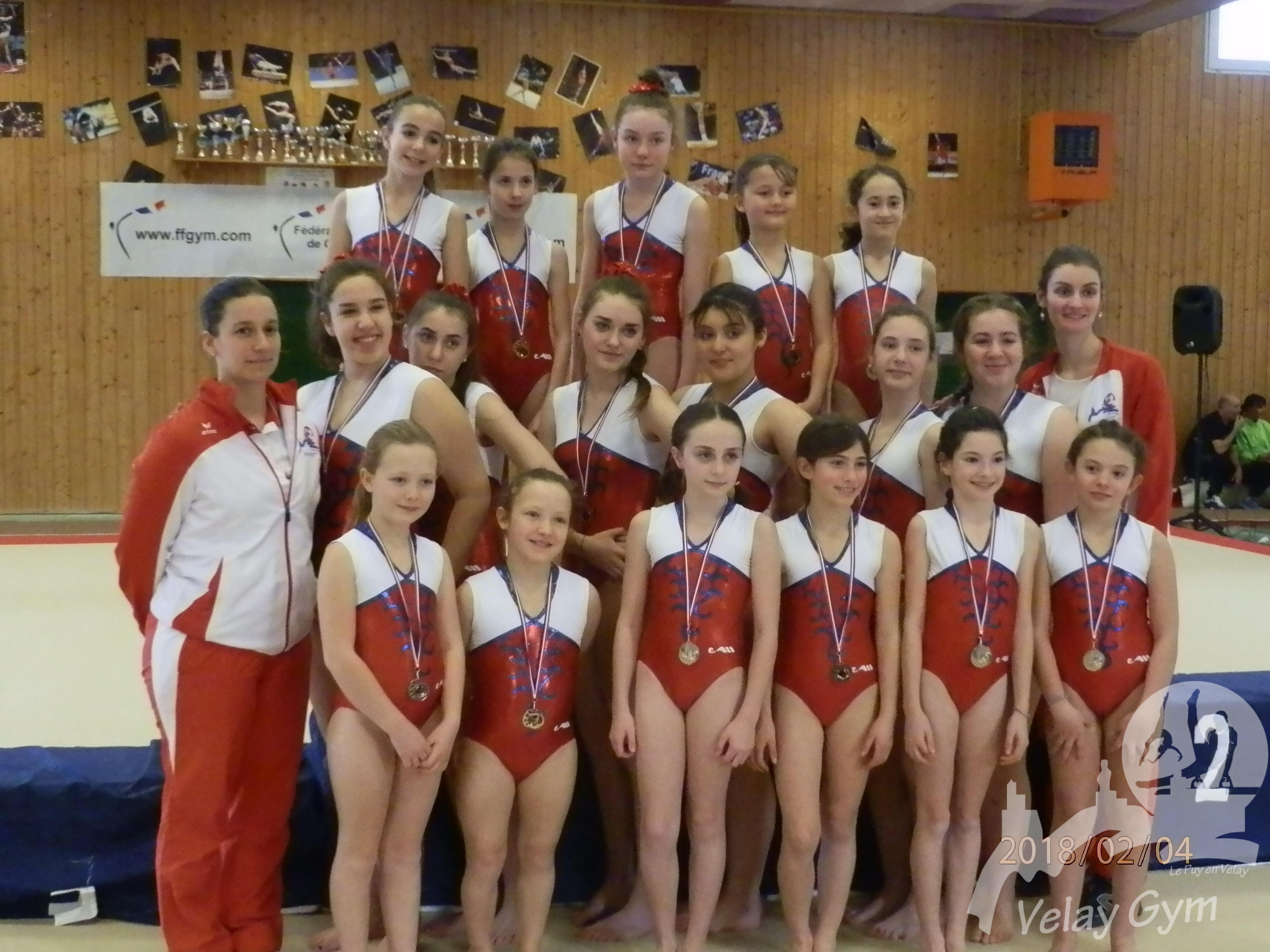 Velay Gym - Club de Gymnastique, Le Puy en Velay