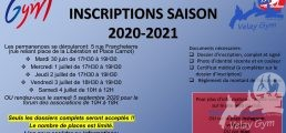 Inscriptions VELAY GYM    saison 2020-2021